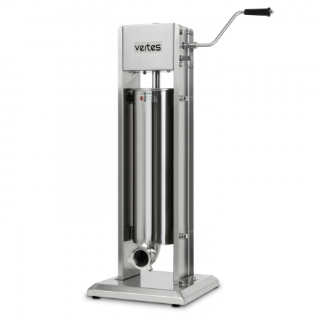 vertes Wurstfüllmaschine komplett Edelstahl 7 Liter