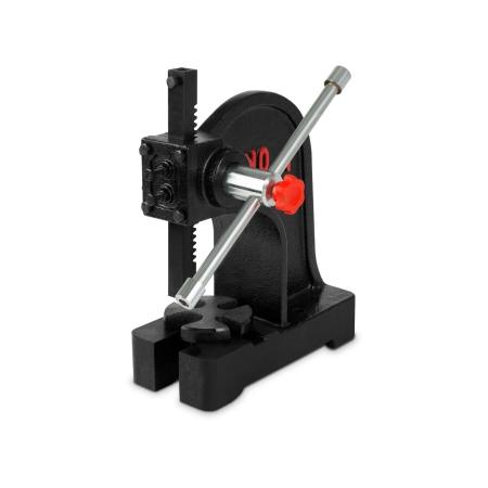 EBERTH Werkstatt Drehdornpresse mit 1000kg Presskraft