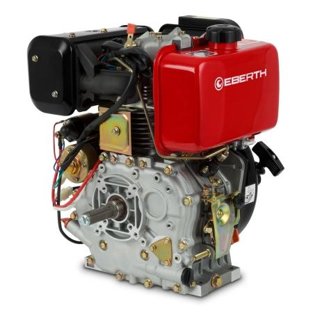 EBERTH 10PS / 7,2kW Dieselmotor mit E-Start und Batterie