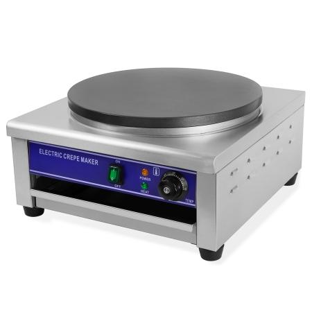 Vertes Crepes Maker mit Ø40cm Platte und 3000 Watt Leistung
