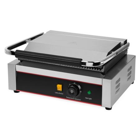 Vertes Kontaktgrill mit 2200 Watt bis 300 °C