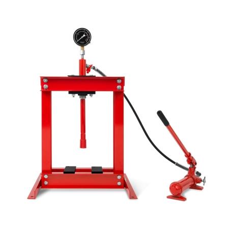 EBERTH Werkstattpresse 6t hydraulisch mit Manometer