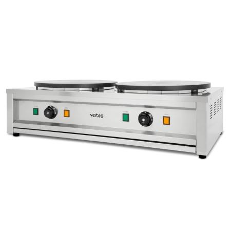 Vertes Crepes Maker doppelt mit 2x3000 Watt Leistung