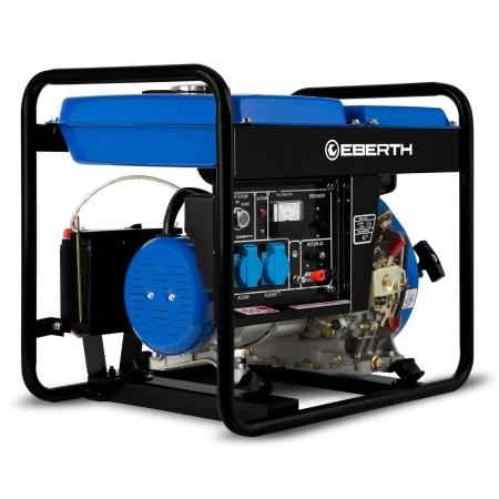 EBERTH 5,7 PS Stromerzeuger mit 3000 W Leistung 1-Phase