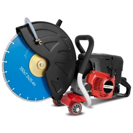 EBERTH 3,4 kW Motorflex Trennschneider für Nass- und Trockenschnitte