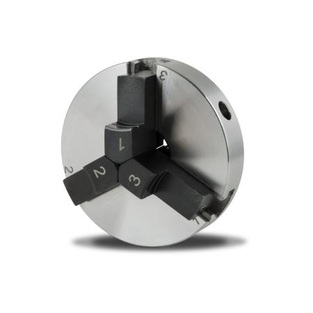 EBERTH 80 mm Dreibackenfutter selbstzentrierend