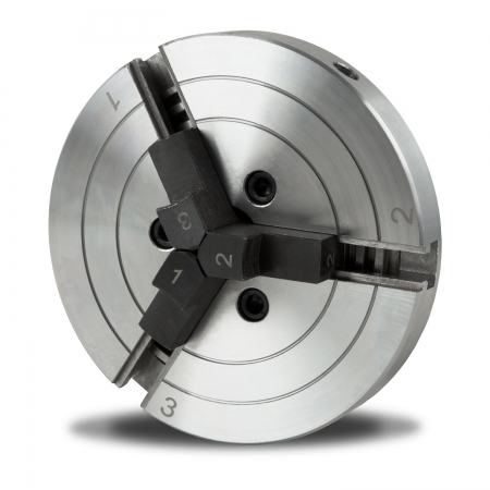 EBERTH 125 mm Dreibackenfutter selbstzentrierend