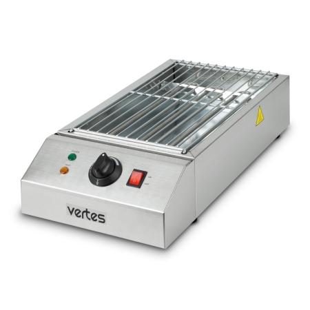vertes BBQ Grill elektrisch 2500 Watt, 1x Grillfläche
