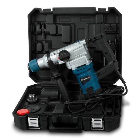 EBERTH Bohr- und Abbruchhammer 1100 Watt Leistung zum Bohren und Hammerbohren