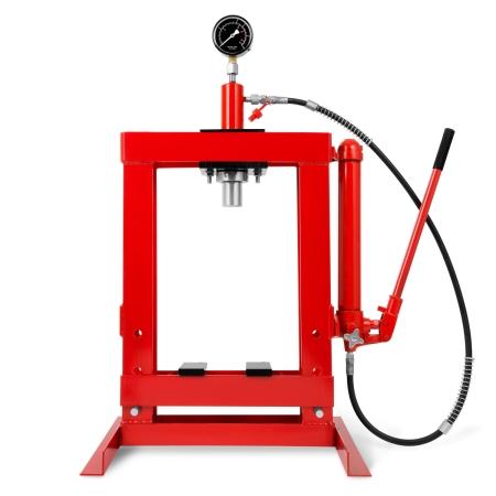 EBERTH Werkstattpresse 10t hydraulisch mit Manometer
