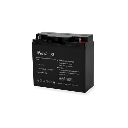 EBERTH Blei Akku 12 Volt Batterie mit 17ah Nennkapazität wartungsfrei