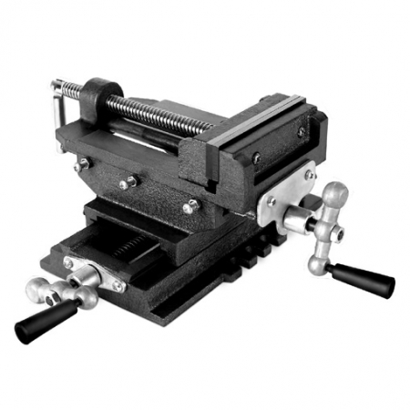 EBERTH Maschinenschraubstock 2-Achsen Kreuztisch 150mm