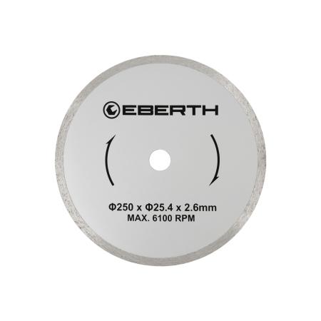 EBERTH Diamant Trennscheibe Ø250 mm