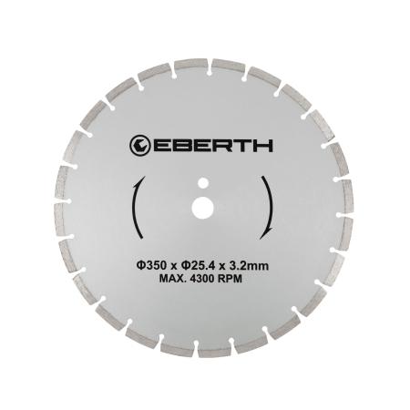 EBERTH Diamant Trennscheibe Ø350 mm