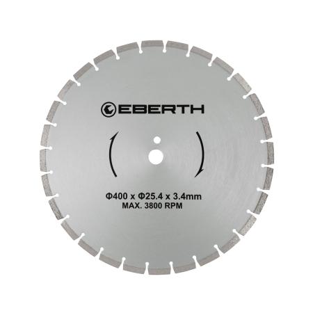 EBERTH Diamant Trennscheibe Ø400 mm