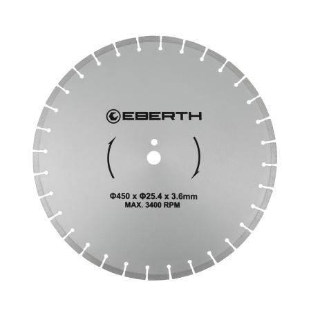 EBERTH Diamant Trennscheibe Ø450 mm