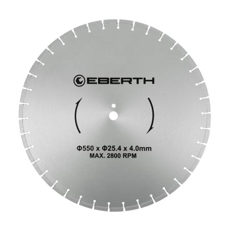 EBERTH Diamant Trennscheibe Ø550 mm