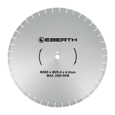 EBERTH Diamant Trennscheibe Ø600 mm