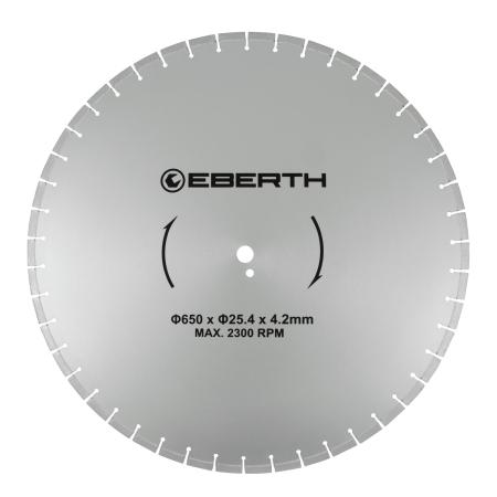 EBERTH Diamant Trennscheibe Ø650 mm