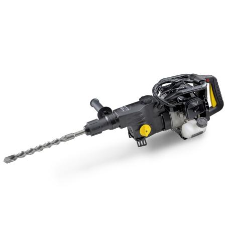 EBERTH 1,2kW Bohrhammer und Abbruchhammer mit Benzinmotor
