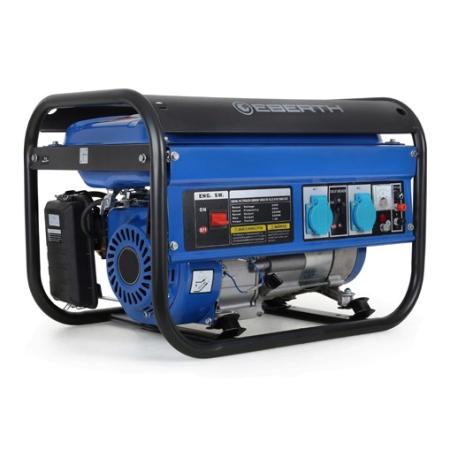 EBERTH Stromerzeuger 3000 Watt Leistung 6,5PS 1-Phase