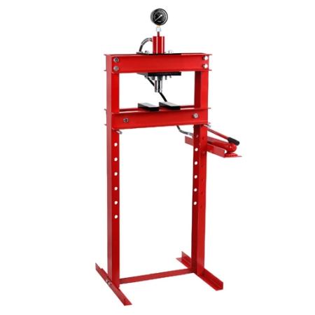 EBERTH Werkstattpresse 20t hydraulisch mit Manometer