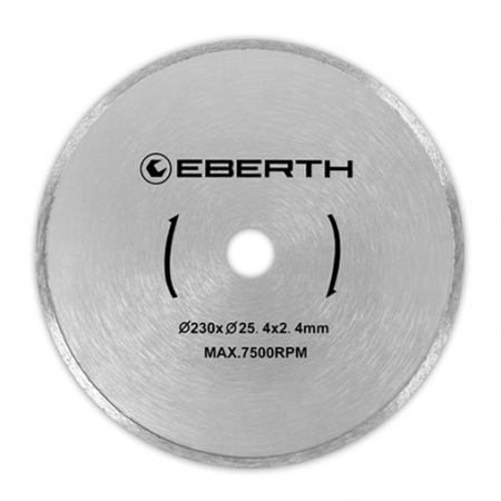 3x EBERTH Diamant Trennscheibe Ø 230mm