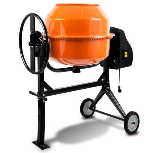 EBERTH Betonmischer mit 160 Liter Trommelvolumen und 650 Watt