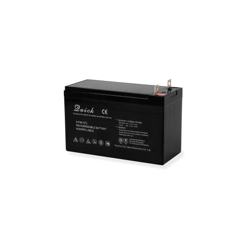 EBERTH Blei Akku 12 Volt Batterie mit 7ah Nennkapazität wartungsfrei