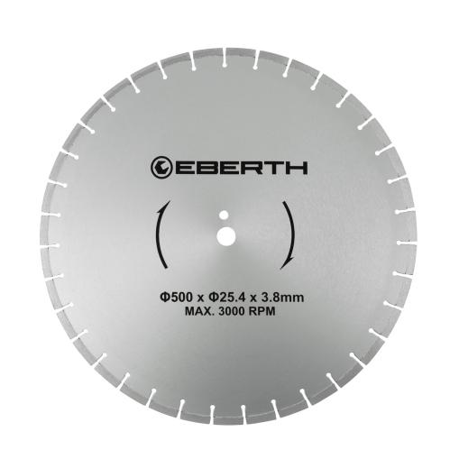 EBERTH Diamant Trennscheibe Ø500 mm