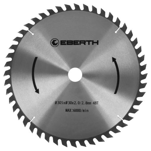 EBERTH Sägeblatt mit 305 mm Durchmesser