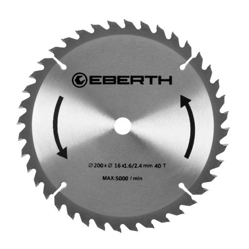 EBERTH Sägeblatt mit 200 mm Durchmesser