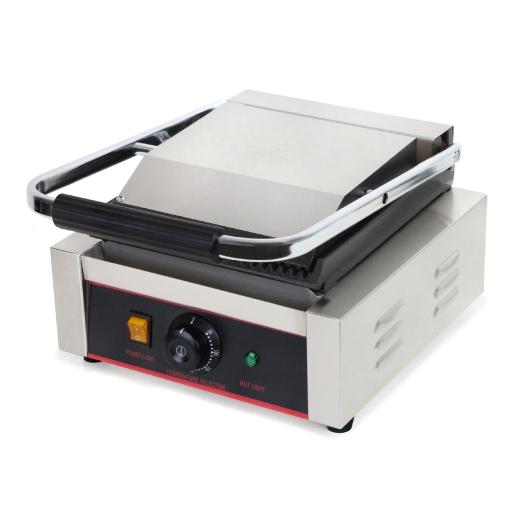 vertes Kontaktgrill mit 1800 Watt Leistung bis zu 300°C