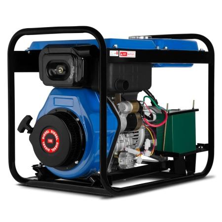 EBERTH 5000 Watt Diesel Stromerzeuger E-Start 1-Phase