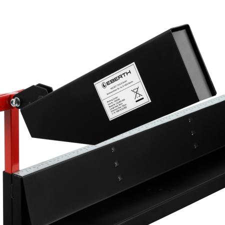EBERTH 1750mm Sägebock mit Kettensägenhalter 320mm