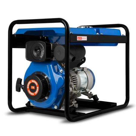 EBERTH 3,8 PS Stromerzeuger mit 2000 W Leistung 1-Phase