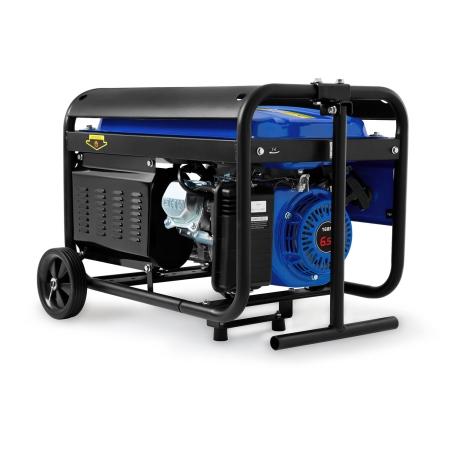 EBERTH 6,5PS Stromerzeuger mit 3000 Watt Leistung Rädern und Handgriff