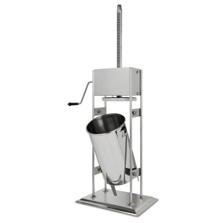 vertes Wurstfüllmaschine komplett Edelstahl 15 Liter