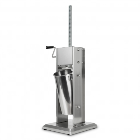 vertes Wurstfüllmaschine komplett Edelstahl 5 Liter