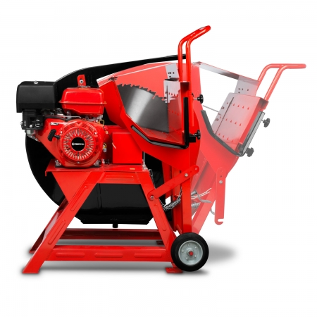 EBERTH Wippsäge Benzinmotor mit 13PS und Ø700mm Sägeblatt
