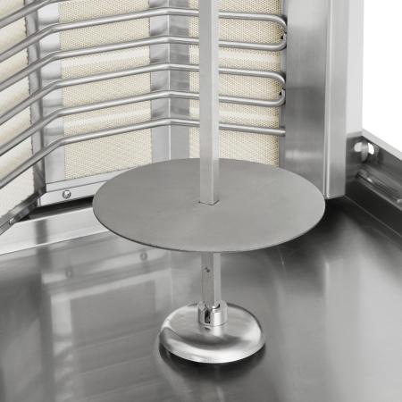 Schawarma Grill mit 2 Heizzonen für den Einsatz in der Gastronomie