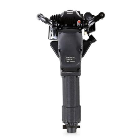 EBERTH 2,5PS Abbruchhammer mit Benzinmotor inkl. 2 Meißel und umfangreichen Zubehör