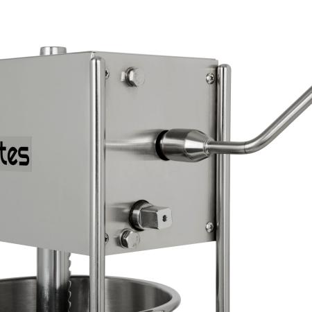 vertes Wurstfüllmaschine komplett Edelstahl 12 Liter