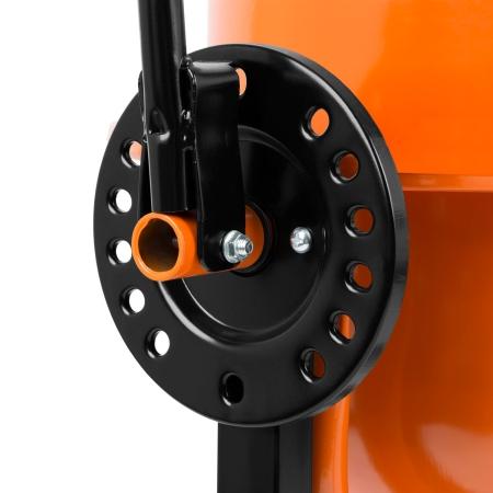 EBERTH Betonmischer mit 65 Liter Trommelvolumen und 220 Watt Leistung