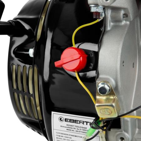 EBERTH 13PS / 9,56kW Benzinmotor 1 Zylinder 4-Takt mit Handstarter