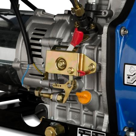 EBERTH 5000 Watt Diesel Stromerzeuger E-Start 3-Phasen